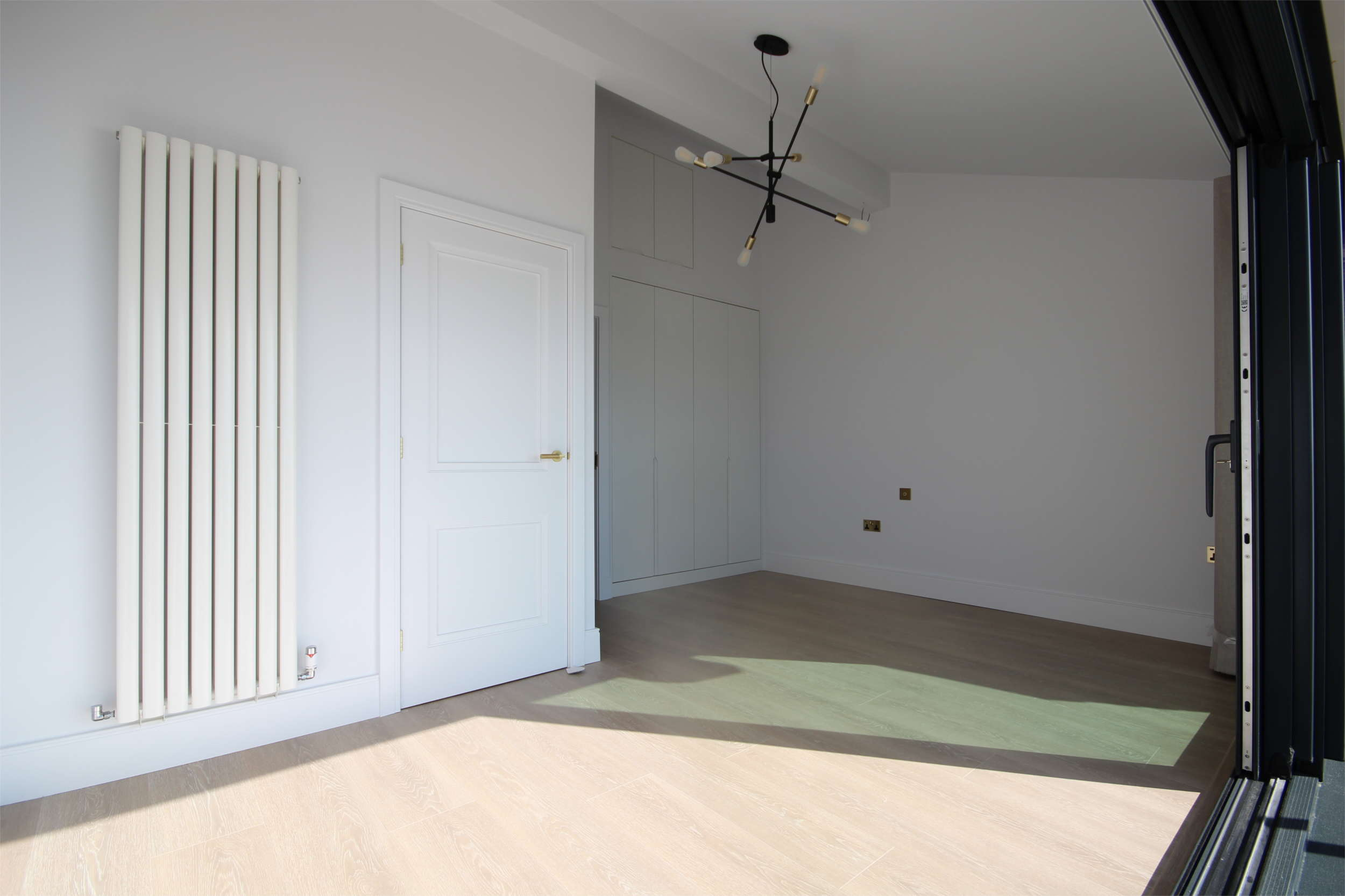 Recessed wardrobes and storage